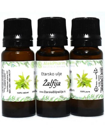 Etarsko ulje Zalfije