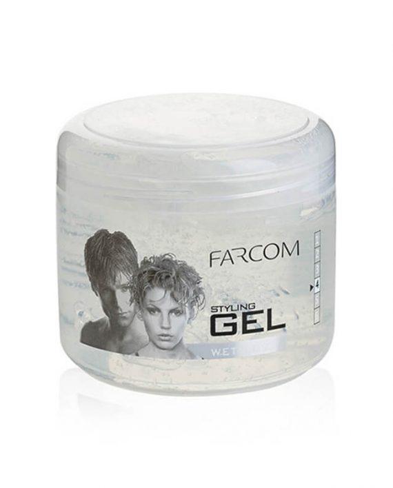 Farcom Wet Look gel za kosu