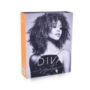 Figaro za afro lokne DIVA Signature Titanium 10mm 7