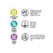 Fleksibilne cetke za rascesljavanje - Wet brush Flex Dry Organic Swirl