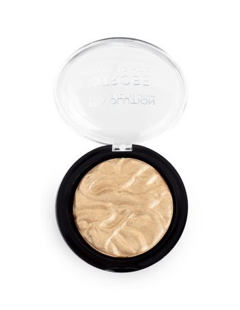 Hajlajter Make Up Revolution Strobe Highlighter Gold Addict