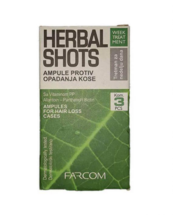 Herbal Shots ampule protiv opadanja kose