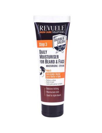 Hidratantni balzam za bradu i kozu lica REVUELE Barber Salon 80ml