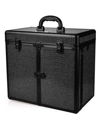 Kofer za sminku, kozmetiku i pribor GALAXY TC 3268 R Crni gliter