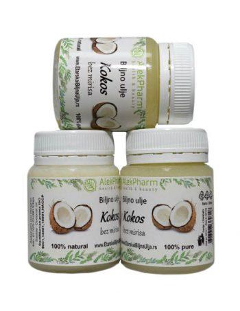 Kokosovo ulje rafinisano bez mirisa