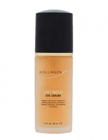 KollagenX serum za predeo oko očiju sa 24 kt zlatom