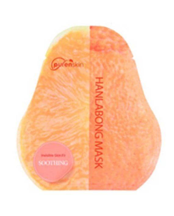Korejska sheet maska za ujednacavanje tena PURENSKIN Invisible Skin Fit korejska mandarina 23g