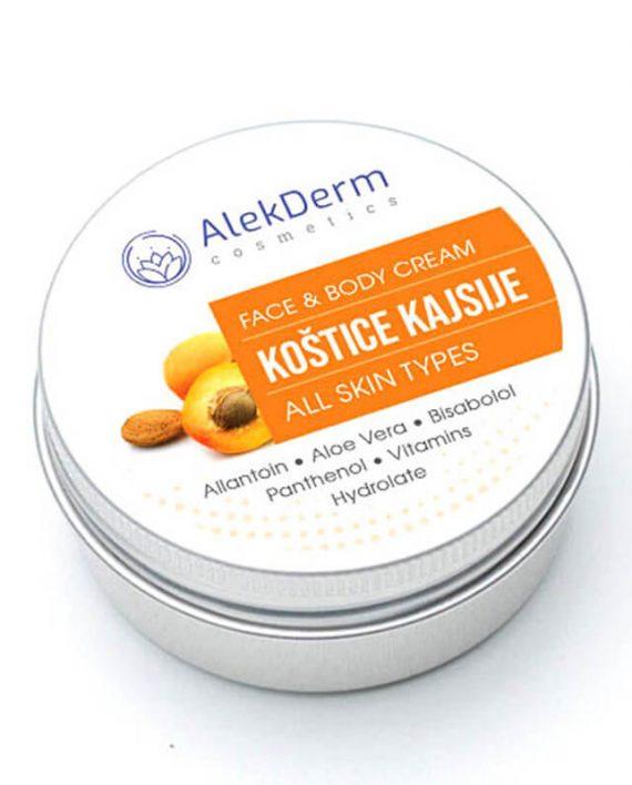 Kostice kajsije krem – AlekDerm Face & Body Cream