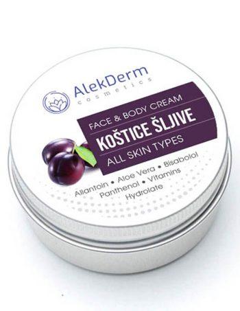 Kostice sljive krem – AlekDerm Face & Body Cream
