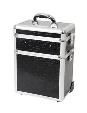 Kozmeticki kofer BLACK Croc TC-3148TBC