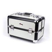 Kozmeticki kofer model WT-405A srebrno crna