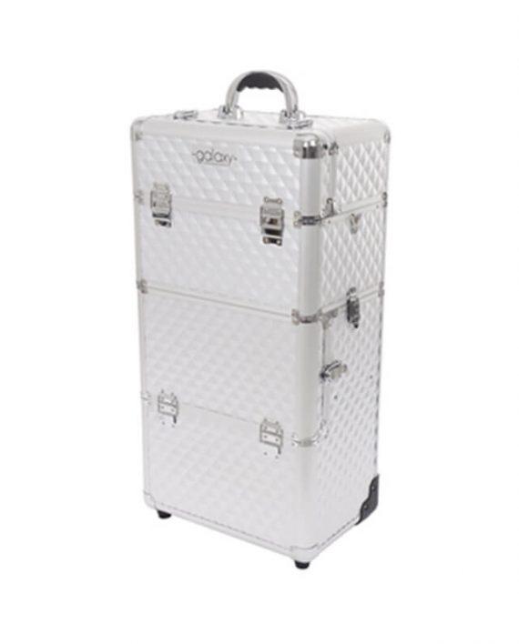 Kozmeticki kofer za alat i pribor GALAXY TC-3266 Dvodelni sa tockicima