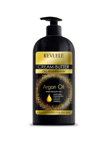 Krema-buter za ruke i telo 5u1 REVUELE Argan Oil