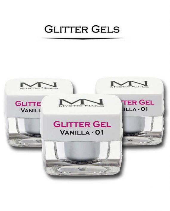MN Glitter UV Gelovi - 4g