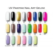 MN UV Painting Nail Art Gelovi - 4g