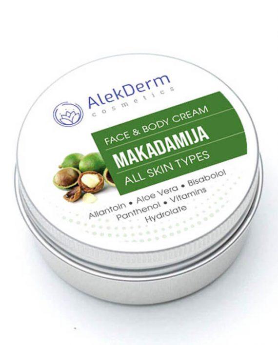 Makadamija krem – AlekDerm Face & Body Cream