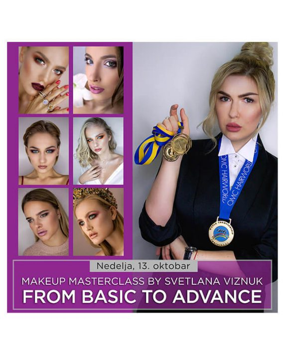 Makeup Masterclass by Svetlana Viznuk FROM BASIC TO ADVANCE