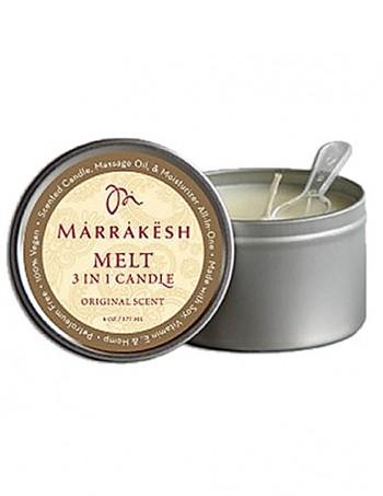 Marrakesh 3 in 1 Candle - Ulje za masazu u vidu svece - Melt