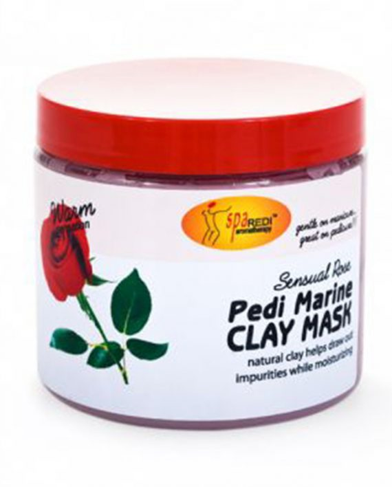 Maska sa glinom za pedikir Spa Redi Ruza