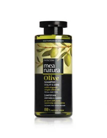 Mea Natura Oliva Vitality & Shine sampon za sve tipove kose
