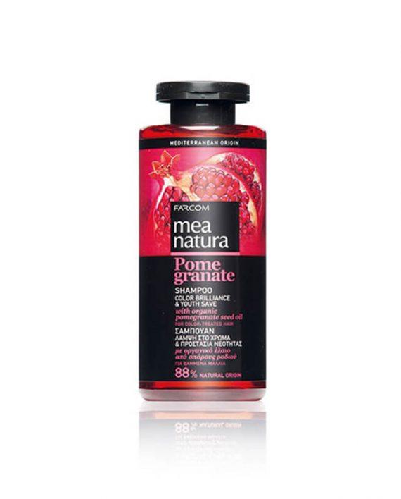 Mea Natura Pomegranate Color Brilliance & Youth Save sampon za suvu kosu