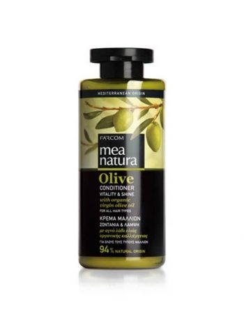 Mea Natura balzam za kosu Vitality & Shine Maslina
