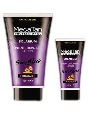 Mega Tan Sexy Black Intense losion sa bronzerom - za solarijum