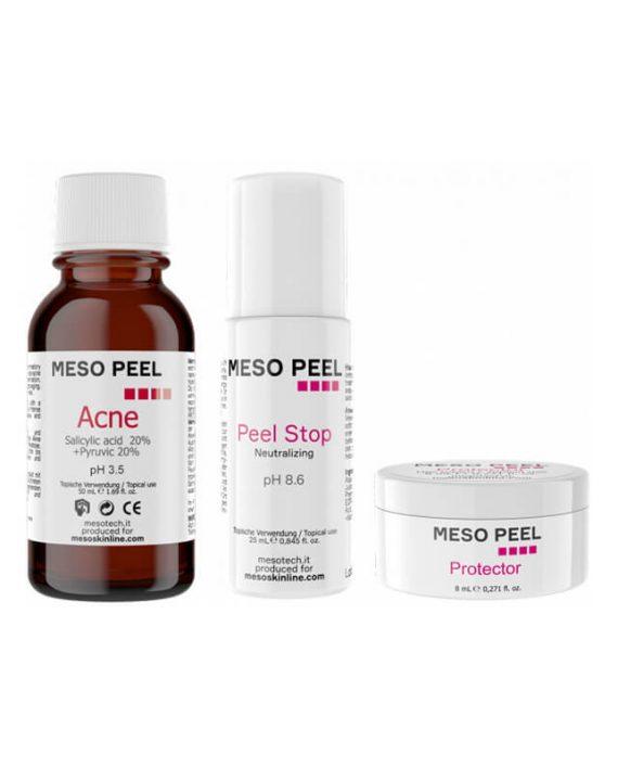 Meso peel Acne - Hemijski piling sa antiupalnim i anti-akne svojstvima