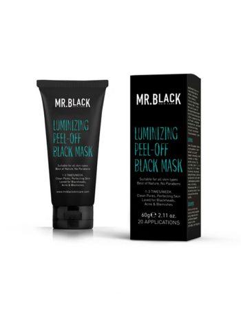 Mr Black crna maska na bazi aktivnog uglja