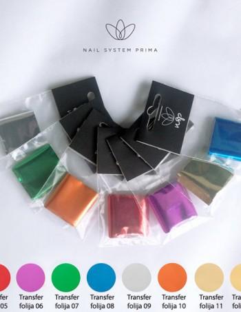 NSP transfer folija za nail art