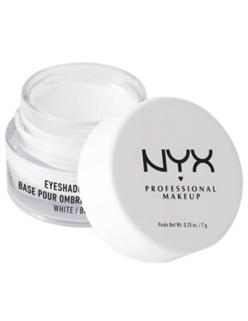 NYX Professional Makeup Baza za senku za oci ESB01 Bela