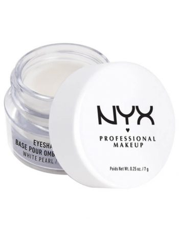 NYX Professional Makeup Baza za senku za oci ESB02 Sedefasto bela