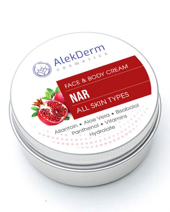 Nar krem – AlekDerm Face & Body Cream