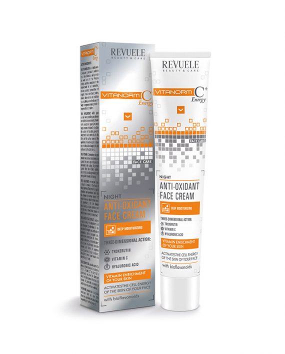 Noćna-Antioxidant-krema-za-lice-C+Energy-REVUELE-Vitanorm-50ml