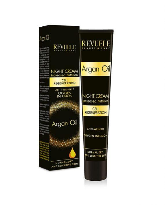 Nocna krema protiv bora REVUELE Argan Oil