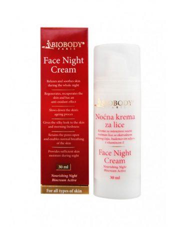 Nocna krema za lice