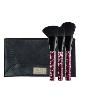 NYX Professional Makeup set četkica za lice Best Face Forward - BSET04