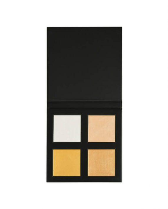 Paleta hajlajtera REVOLUTION PRO 4K Highlighter Palette Gold