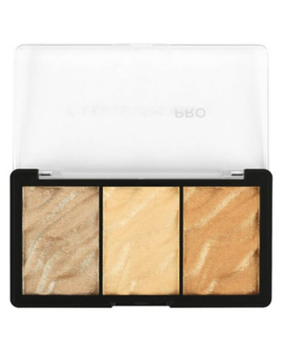 Paleta hajlajtera REVOLUTION PRO Supreme Highlight Metals