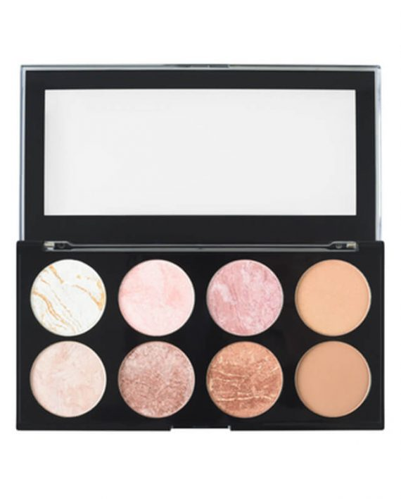 Paleta rumenila, bronzera i hajlajtera MAKEUP REVOLUTION Ultra Blush Golden Sugar 13g