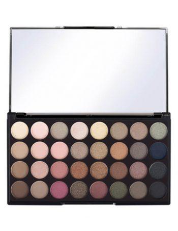 Paleta senki za oči MAKEUP REVOLUTION Eyeshadow Palette Flawless 16g