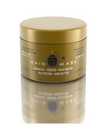 Parfemska intenziva maska bez parabena sa keratinom i argan uljem za sve tipove kose