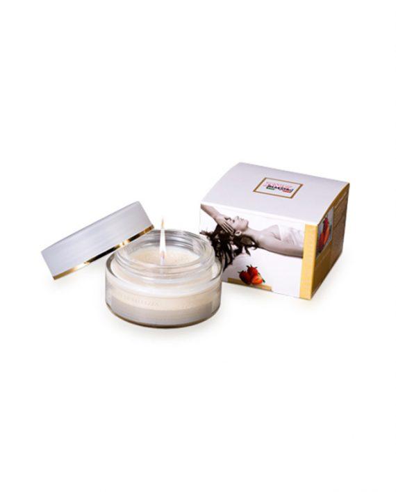 Parfimisana-sveća-za-masažu-sa-aromom-jagode