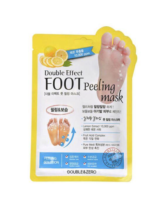 Pedikir carape za eksfolijaciju stopala DOUBLE & ZERO Double Effect 40ml
