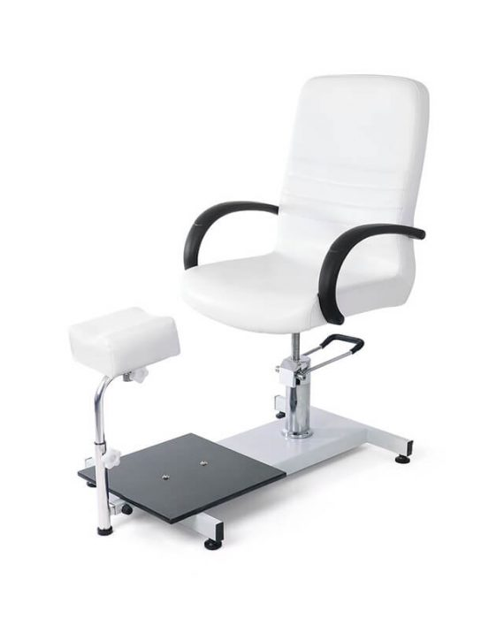 Pedikir radna stolica sa hidraulikom DP5710 sa podesivim drzacem nogu