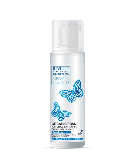 Pena-za-čišćenje-lica-Organic-REVUELE-Dr.-Richards-150ml