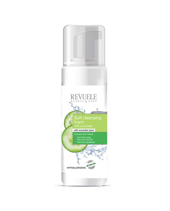 Pena-za-čišćenje-lica-Soft-Cucumber-REVUELE-Dr.-Richards-150ml