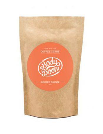 Piling od kafe za telo Body Boom Djumbir i Narandza