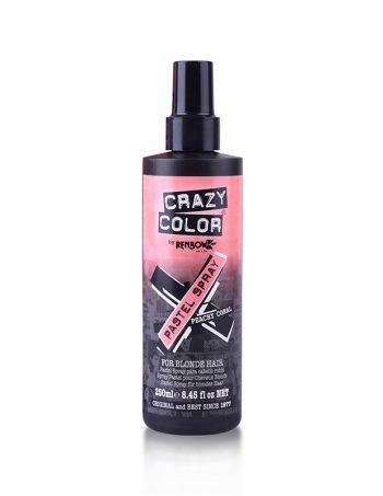 Polutrajna-Pastelna-boja-u-spreju-za-kosu-Crazy-Color-Peachy-Coral-250ml1