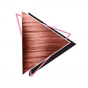 Polutrajna boja za kosu Rose Gold.